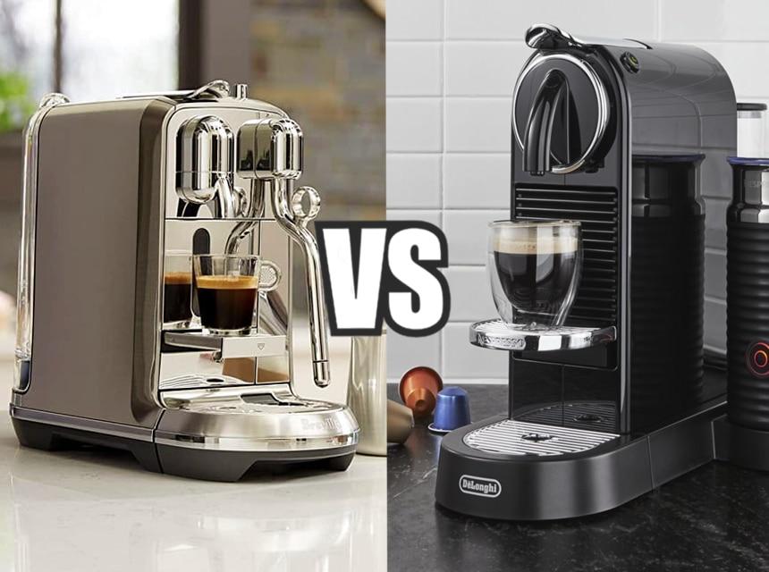 Nespresso Breville vs Delonghi: Which One Do You Choose?