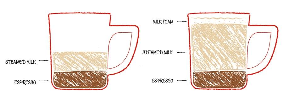 Cortado vs Latte - Key differences, Tips & Advice