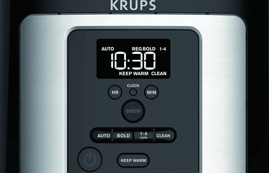 Top 5 Best Krups Coffee Makers - Worthy Choice