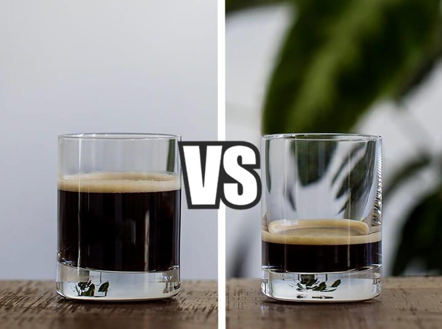 long shot vs ristretto main2