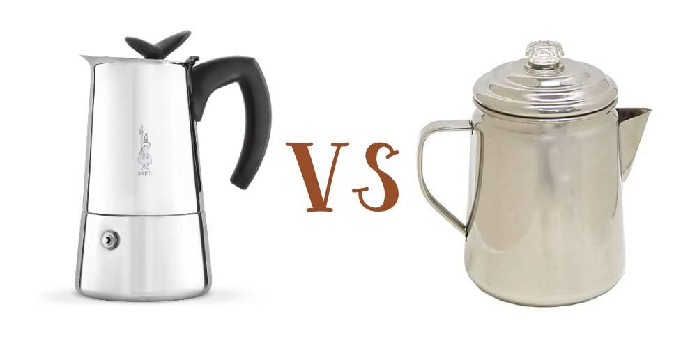 Moka Pot vs Percolator: What's the Difference?